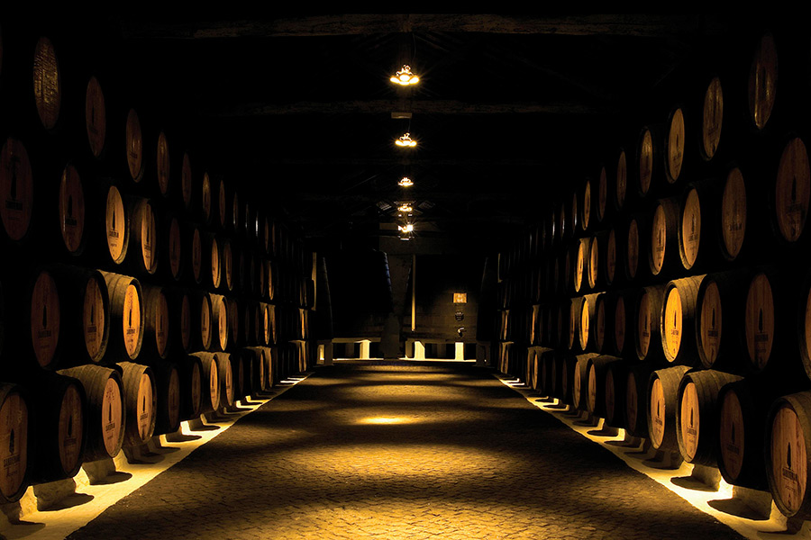 Visit the Sandeman Cellars and discover more about the Port Wine history