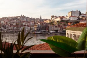 Hotel room with the best Porto view